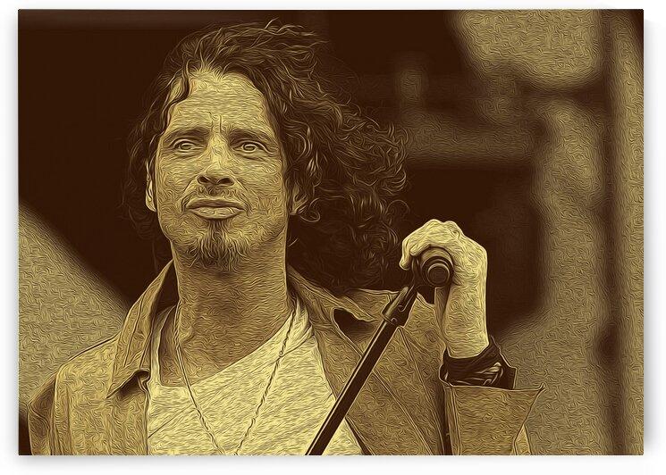 Chris Cornell American singer-songwriter 2 by RANGGA OZI
