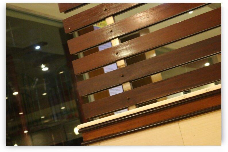 KFC Indoor Design Wooden Fence Wall by Jerrys Studio