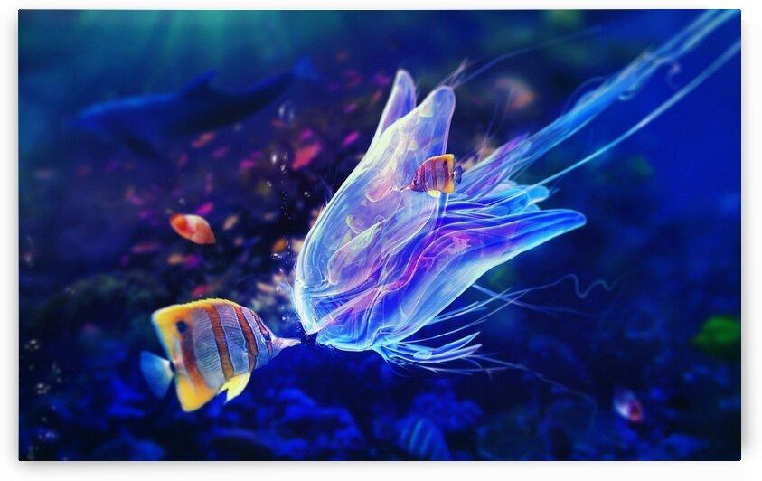 Fish by Coolbits Art