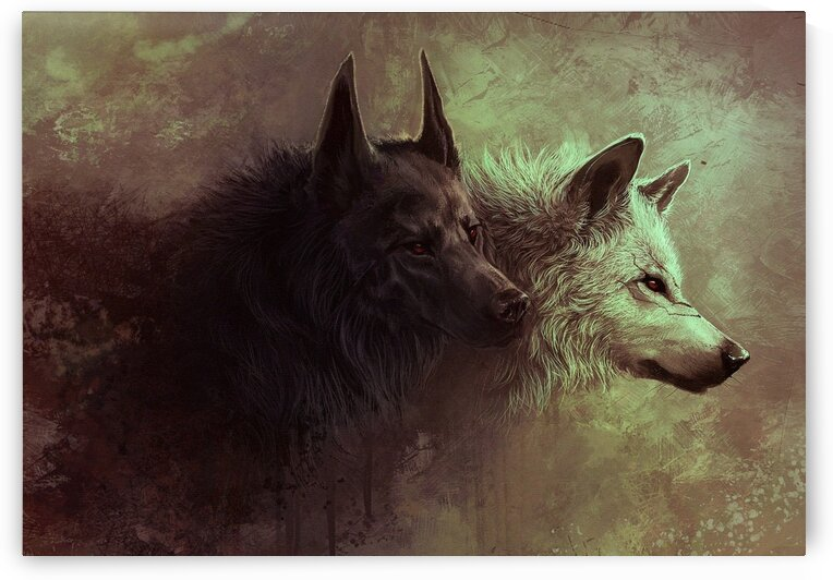 Wolf by Coolbits Art