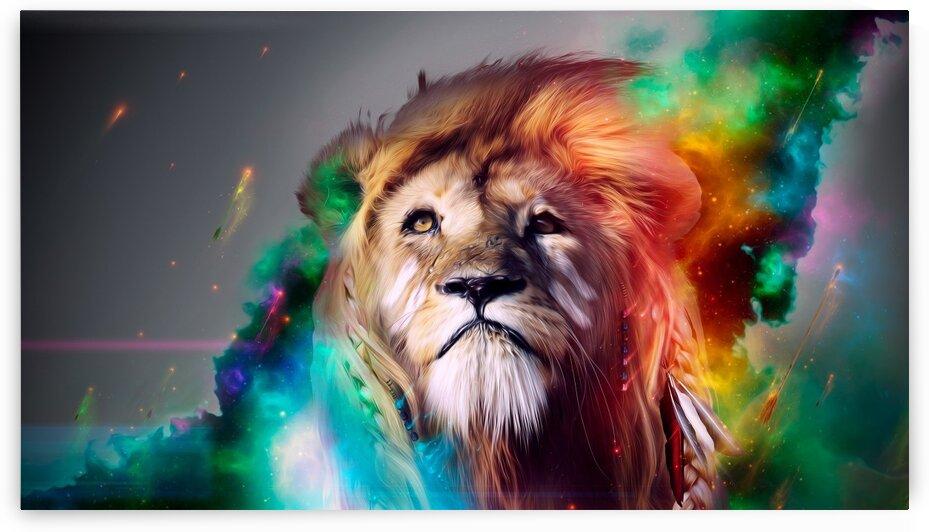 Lion by Coolbits Art