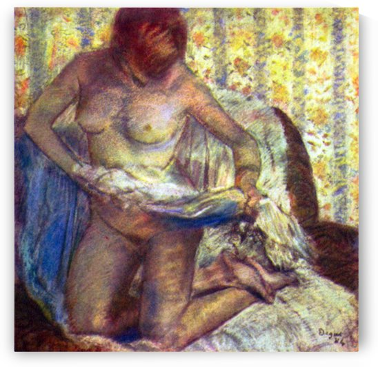 Nude Woman by Degas by Degas