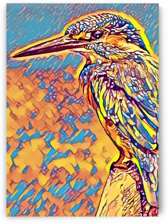 Kingfisher Yellow Blue Mix by Indian Unity Club