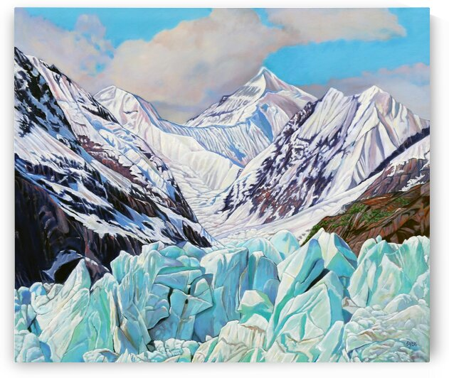 Alaska Mountains and Glaciers by Rick Bayers