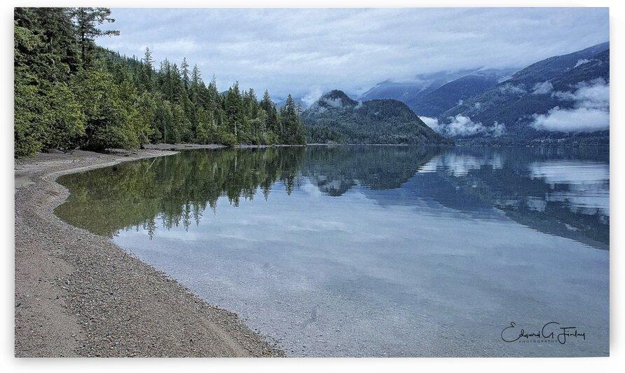 Slocan Lake by Edward Finlay