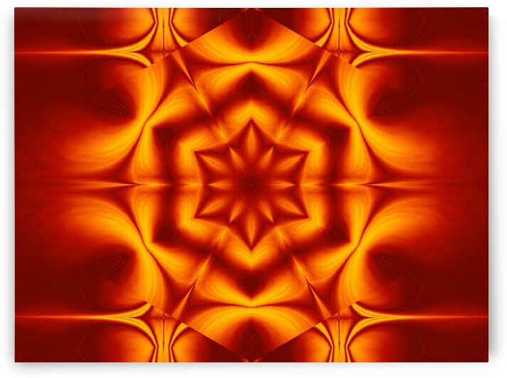 Fire Flowers 16 by Sherrie Larch