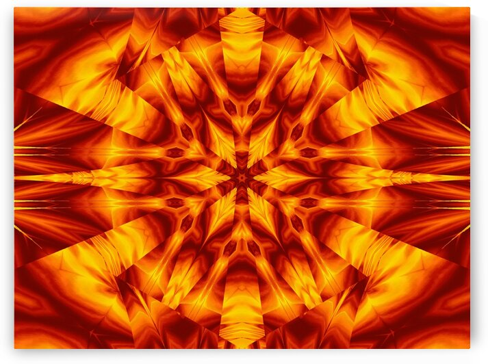 Fire Flowers 30 by Sherrie Larch