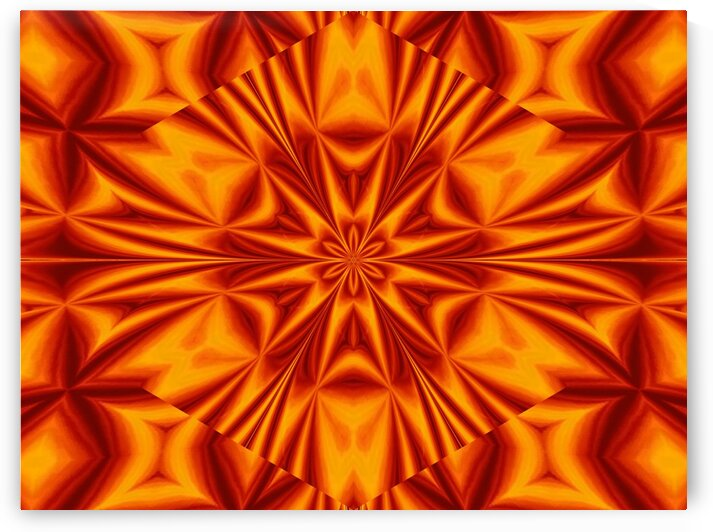Fire Flowers 35 by Sherrie Larch