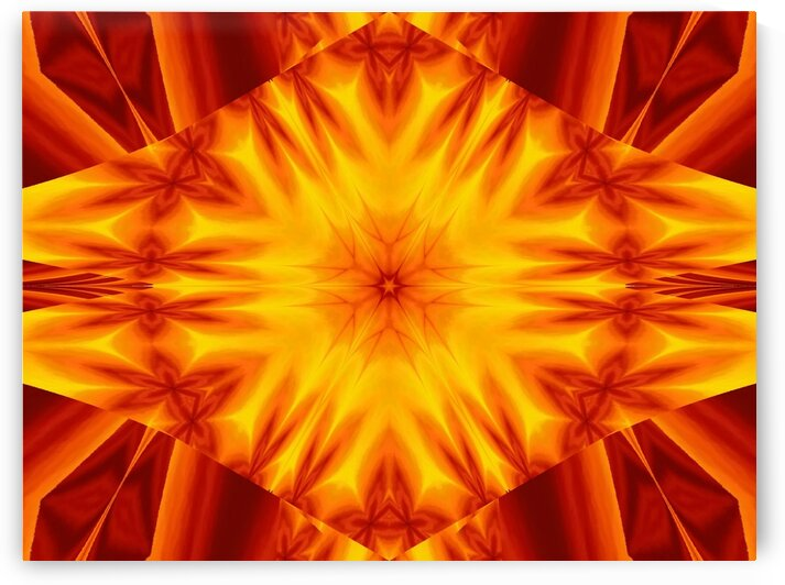 Fire Flowers 44 by Sherrie Larch