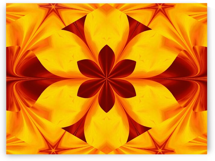 Fire Flowers 45 by Sherrie Larch