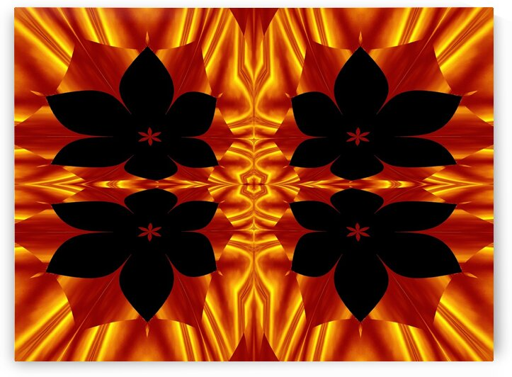 Fire Flowers 89 by Sherrie Larch