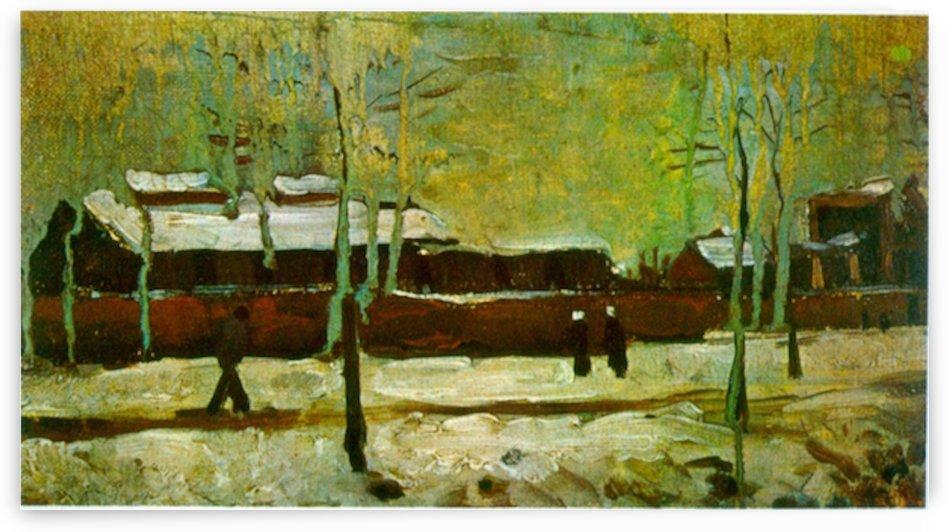 Old Station by Van Gogh by Van Gogh