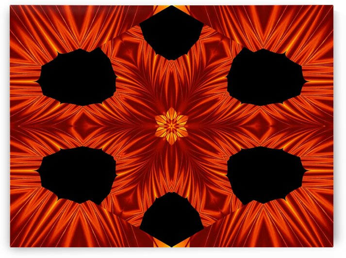 Fire Flowers 105 by Sherrie Larch