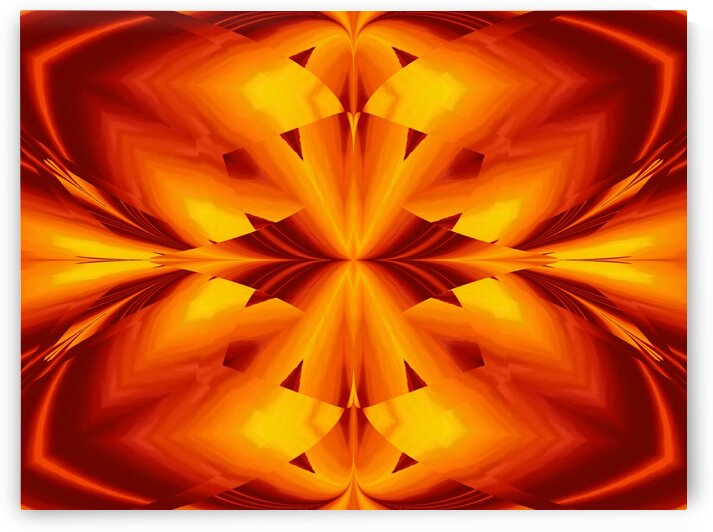 Fire Flowers 109 by Sherrie Larch