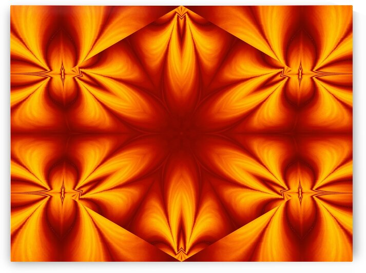 Fire Flowers 124 by Sherrie Larch