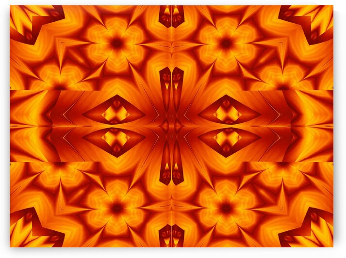 Fire Flowers 129 by Sherrie Larch
