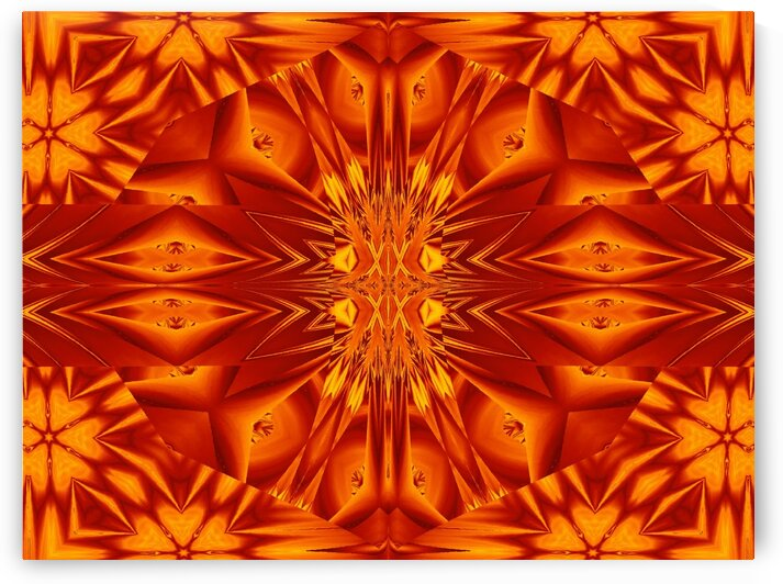 Fire Flowers 135 by Sherrie Larch