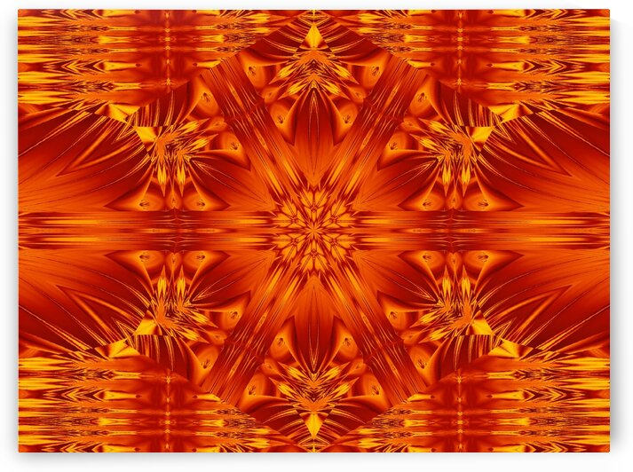Fire Flowers 141 by Sherrie Larch