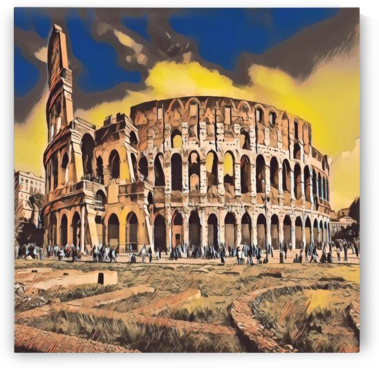 The Colosseum by Indian Unity Club