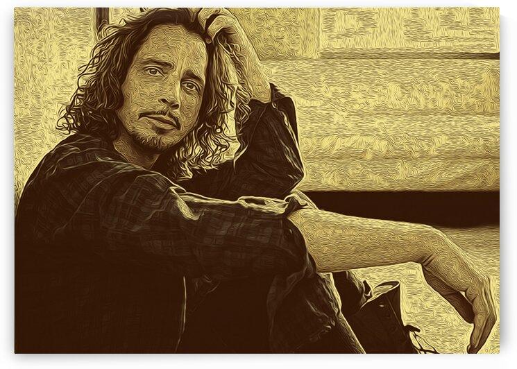 Chris Cornell American singer-songwriter 26 by RANGGA OZI