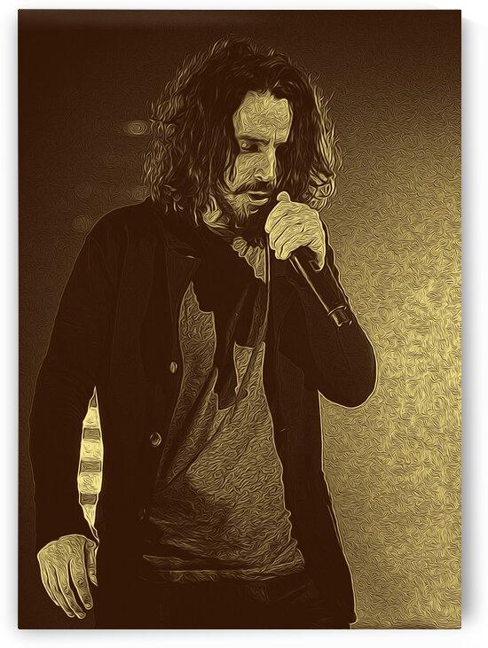 Chris Cornell American singer-songwriter 21 by RANGGA OZI