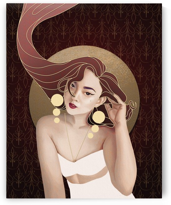 Vintage Hair by 7th Artist