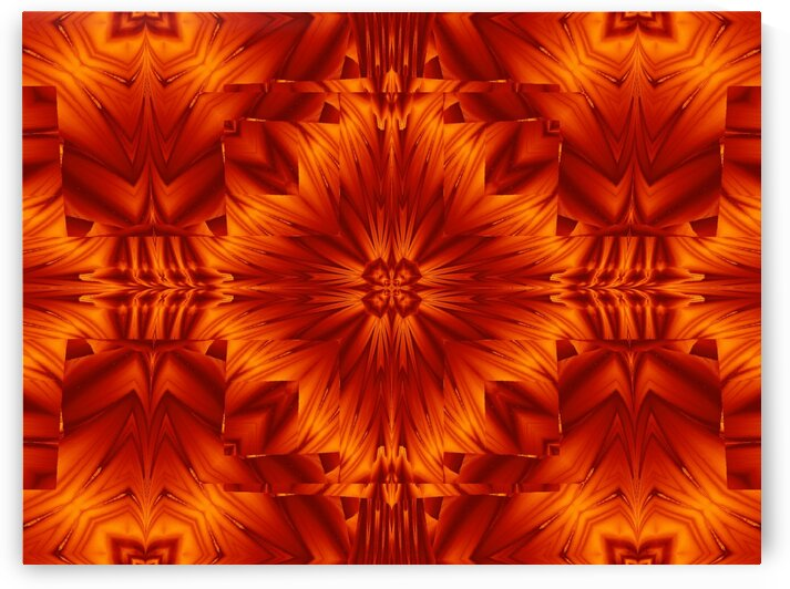 Fire Flowers 193 by Sherrie Larch