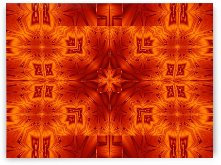 Fire Flowers 195 by Sherrie Larch