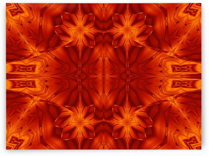 Fire Flowers 196 by Sherrie Larch