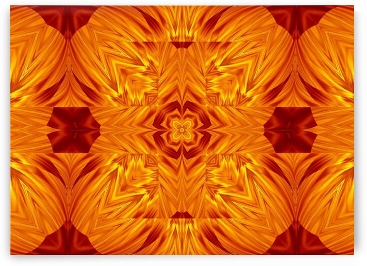 Fire Flowers 198 by Sherrie Larch