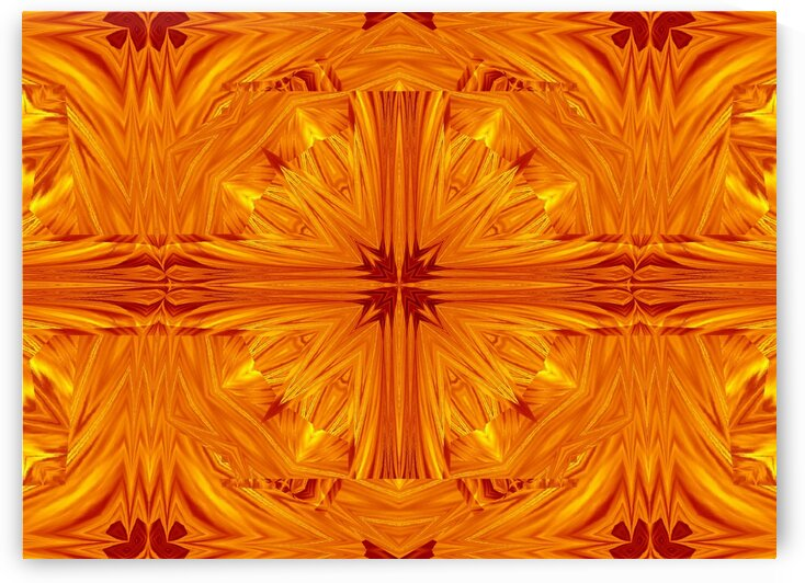 Fire Flowers 200 by Sherrie Larch
