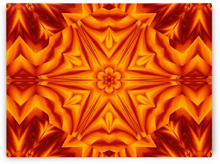 Fire Flowers 238 by Sherrie Larch