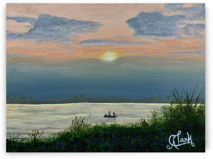 A Day on the Lake by Clark Fine Art