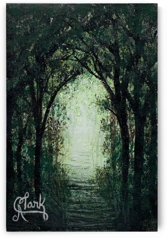 Path in the Woods by Clark Fine Art