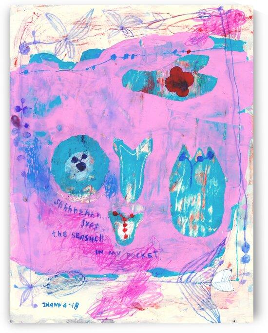 Sea Shell In My Pocket by Zhanna Shomakhova