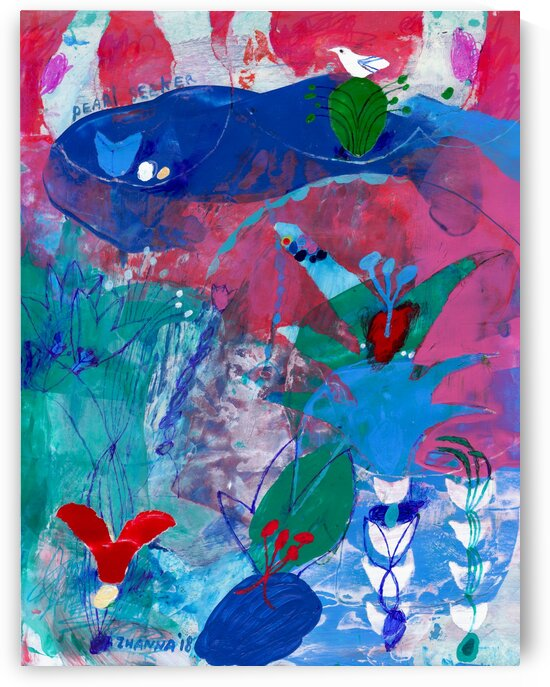 Pearl Seeker by Zhanna Shomakhova