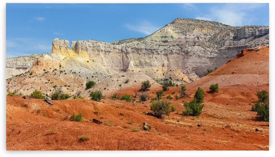 The Cliff Chimneys - OKeeffe Ghost Ranch by Nicholas