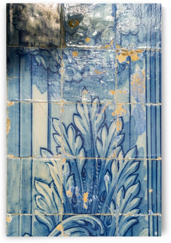 Antique Portuguese Azulejo - Centuries Old Traditional Tiled Picture by GeorgiaM