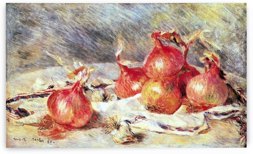 Onions by Renoir by Renoir