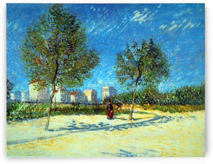 Outskirts by Van Gogh by Van Gogh