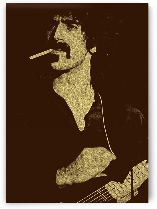 Frank Zappa Oil Painting 13 by RANGGA OZI