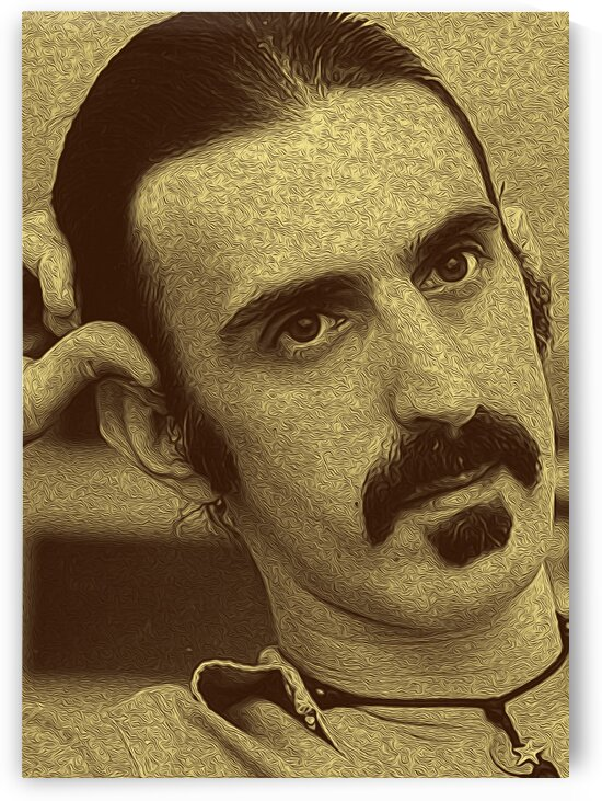 Frank Zappa Oil Painting 16 by RANGGA OZI