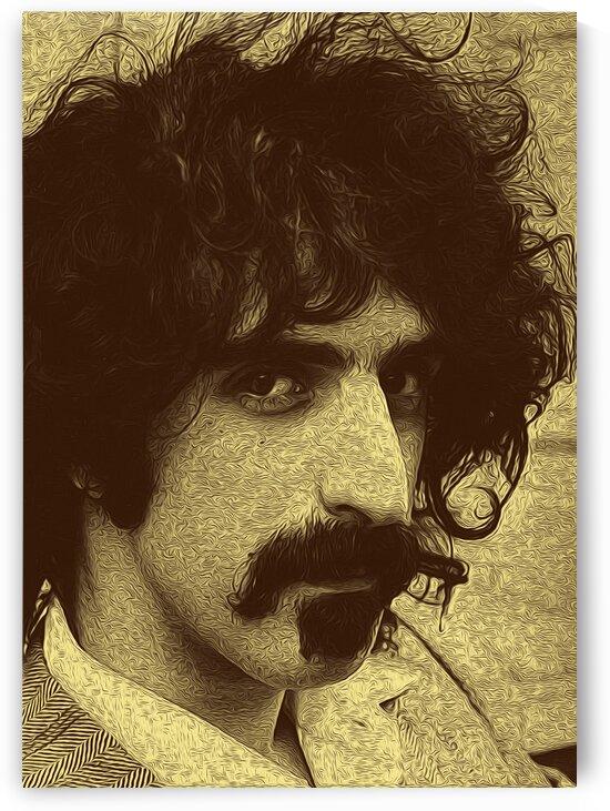 Frank Zappa Oil Painting 17 by RANGGA OZI