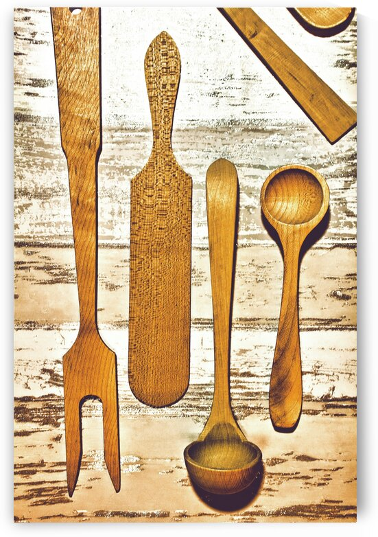 wooden spoons by Bentivoglio Photography