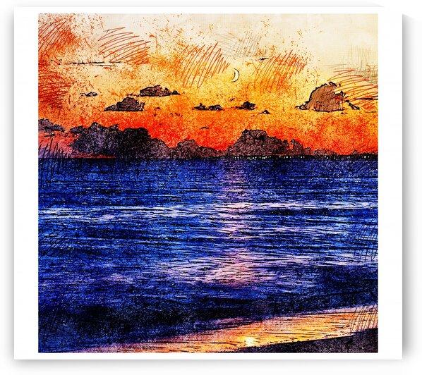 Beautiful Scenery in Color Sketch 19 by RANGGA OZI