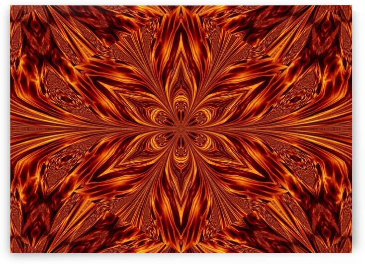 Eternal Flame Flowers 22 by Sherrie Larch