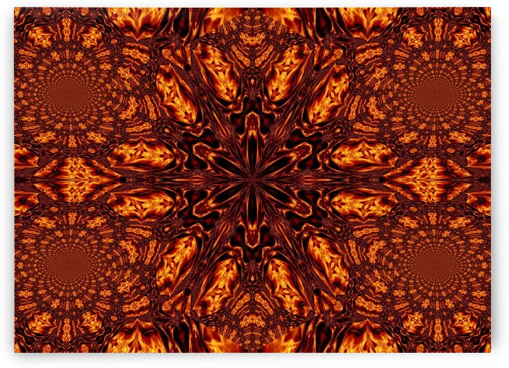 Eternal Flame Flowers 40 by Sherrie Larch
