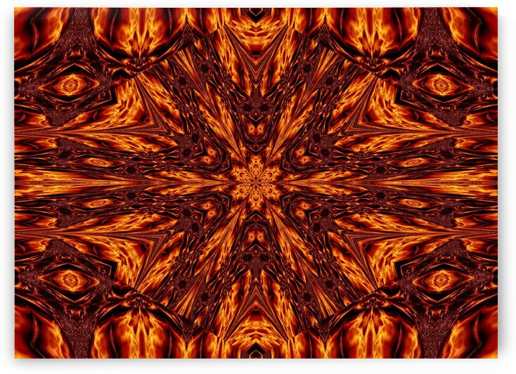Eternal Flame Flowers 54 by Sherrie Larch