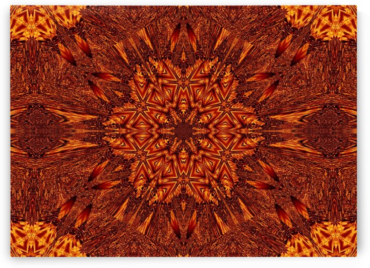 Eternal Flame Flowers 86 by Sherrie Larch