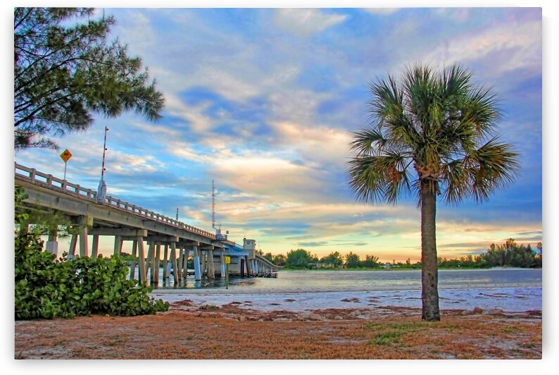 Evening At Longboat Pass by HH Photography of Florida
